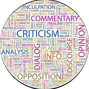 ------------------------- Criticism | Κείμενα